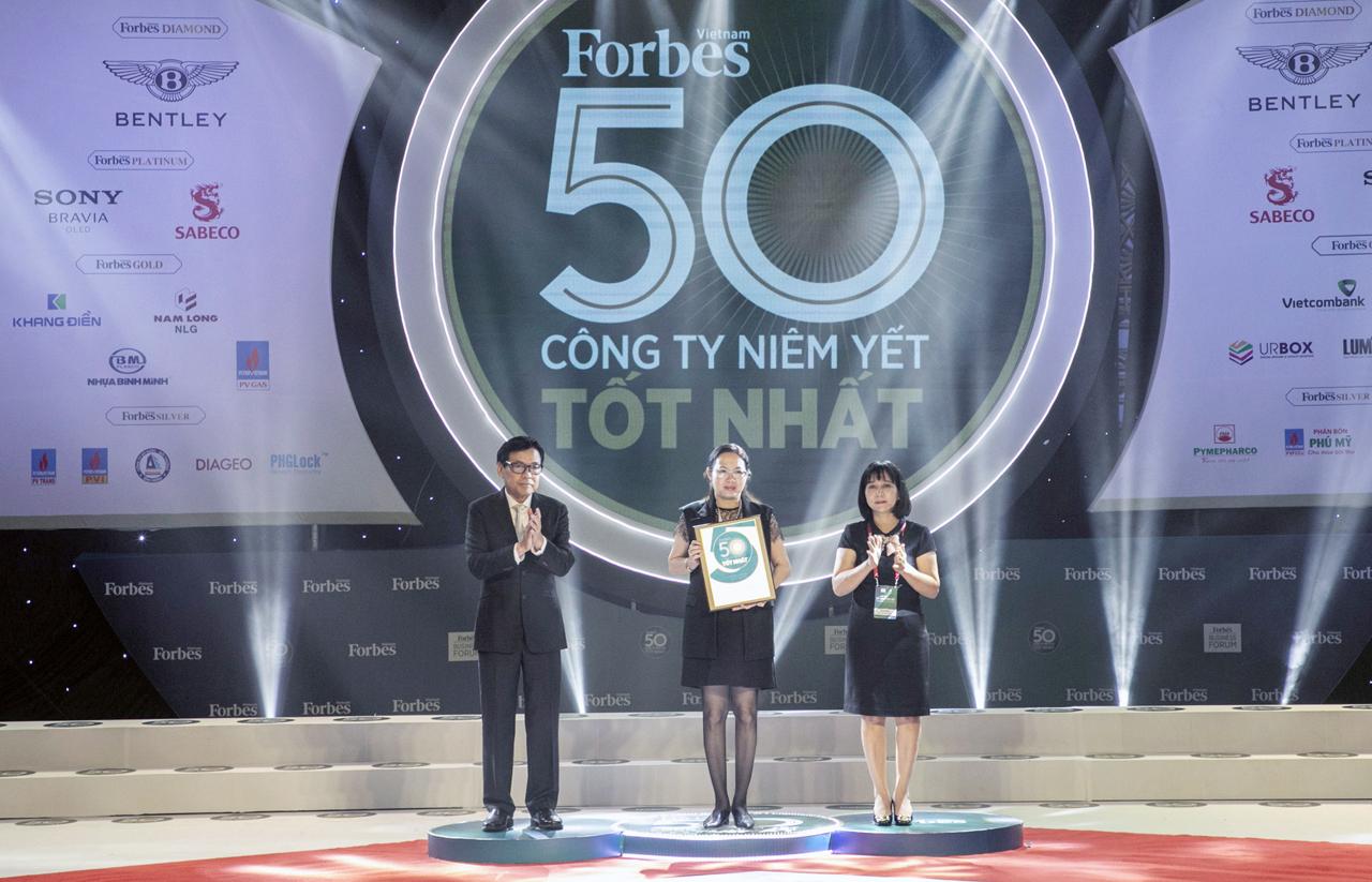 FORBES VIỆT NAM: VINH DANH DOMESCO - TOP 50 CÔNG TY NIÊM YẾT TỐT NHẤT NĂM 2019