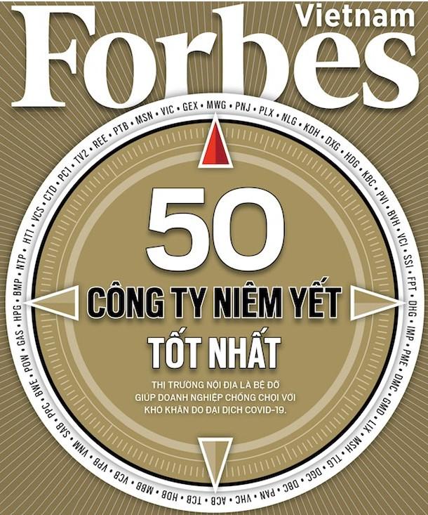 DOMESCO - 02 NĂM LIÊN TIẾP TRONG TOP 50 CÔNG TY NIÊM YẾT TỐT NHẤT DO FORBES VIỆT NAM CÔNG BỐ