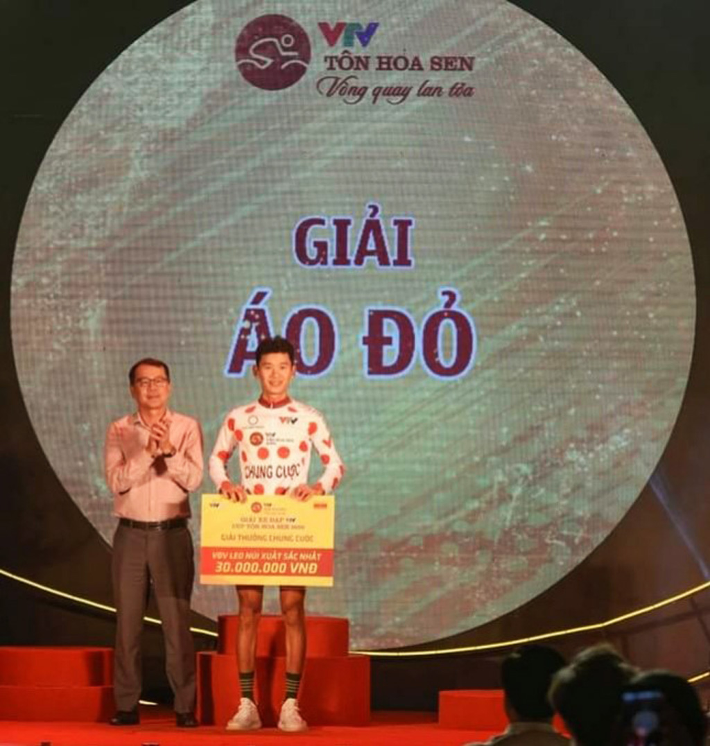 ĐỘI XE ĐẠP DƯỢC DOMESCO – ĐỒNG THÁP Thành tích tại giải VTV – Cúp Tôn Hoa Sen 2020