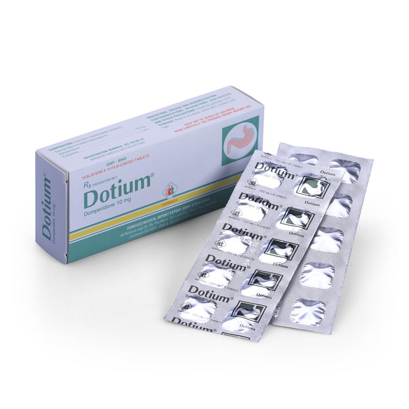 Dotium (Domperidon 10mg)
