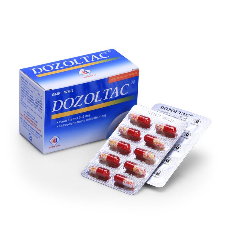 Dozoltac (Para + Chlorphe)