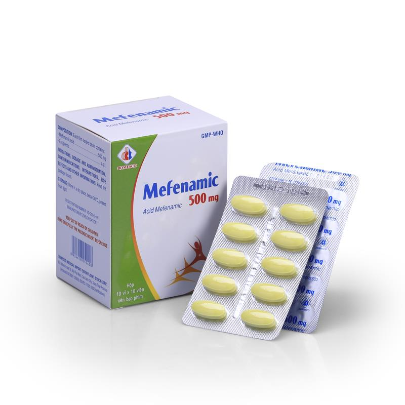 Mefenamic 500mg