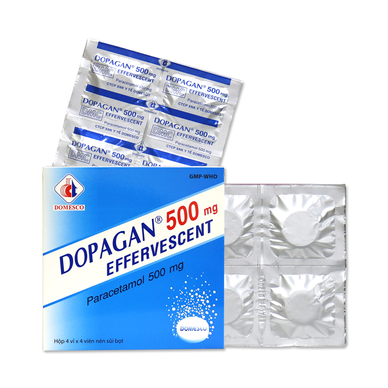 DOPAGAN 500MG EFFERVESCENT