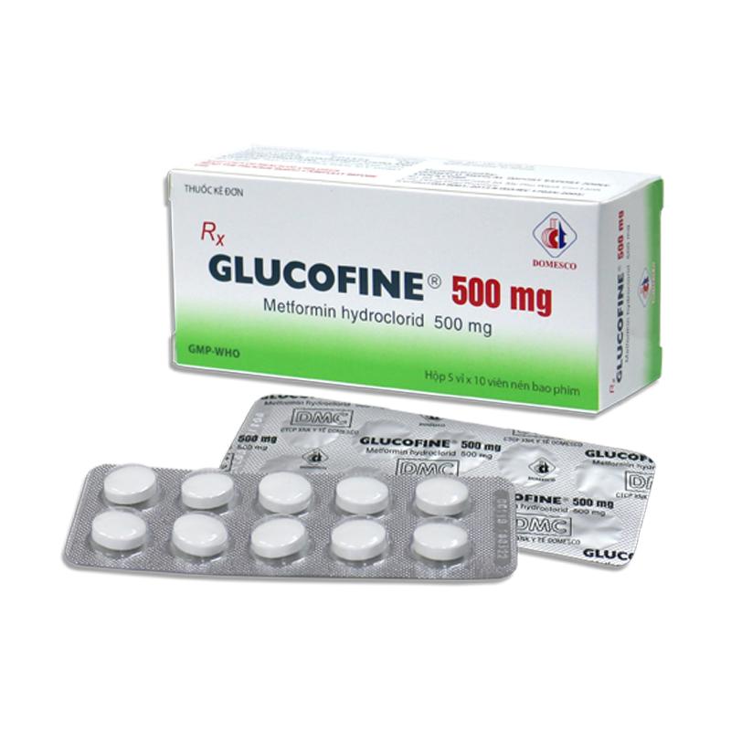 GLUCOFINE 500MG