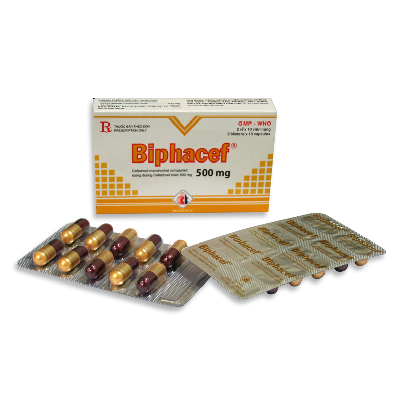BIPHACEF 500MG