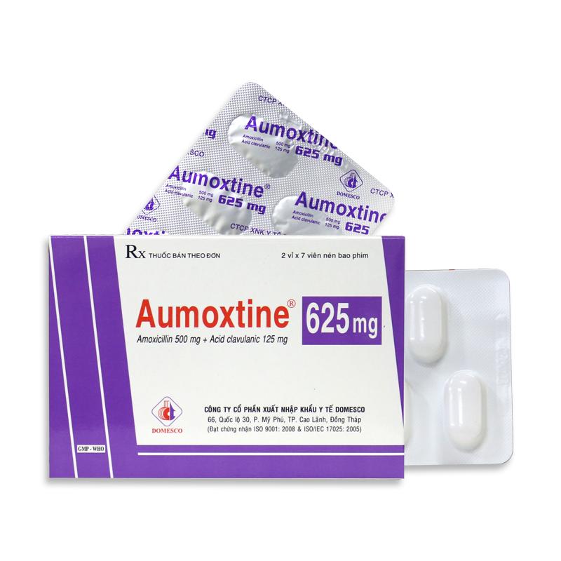 AUMOXTINE 625MG