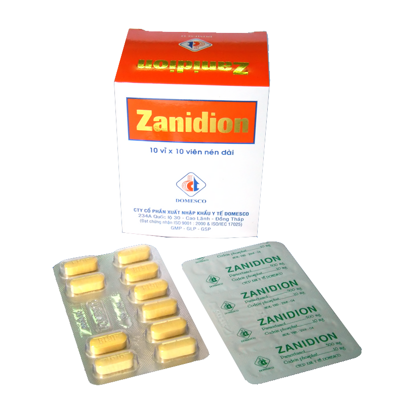 Zanidion (Para + Codein)