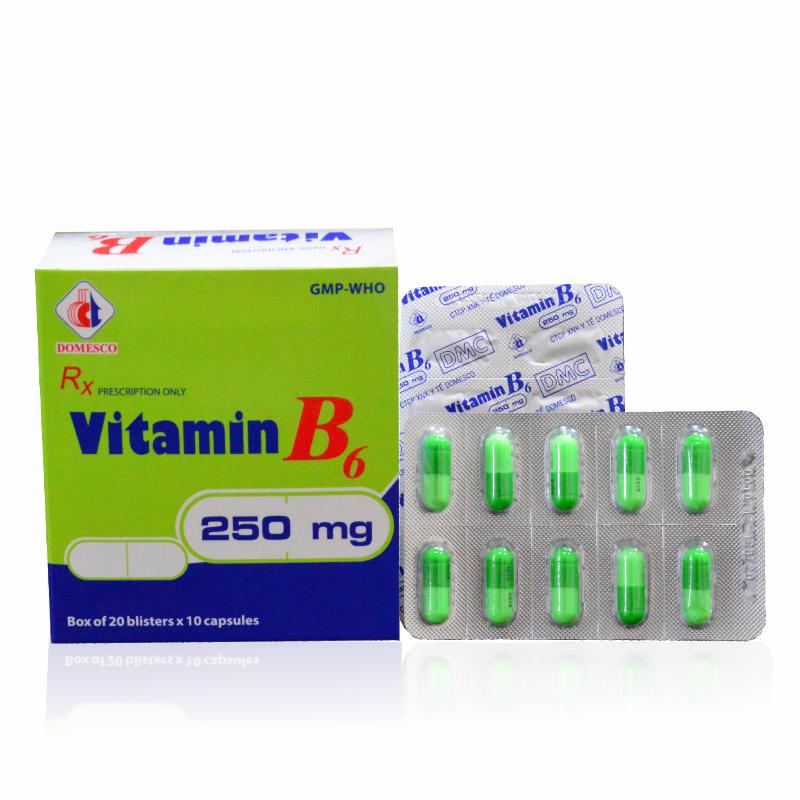 Vitamin B6 250mg
