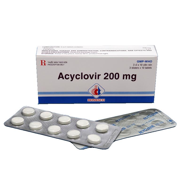 ACYCLOVIR 200mg