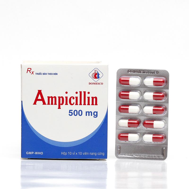 AMPICILLIN 500 mg